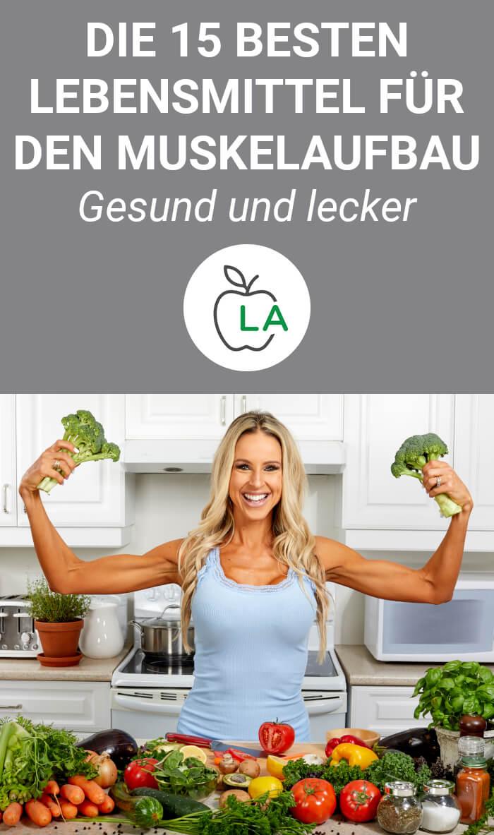 Nahrungsmittel für die Muskelaufbau Ernährung