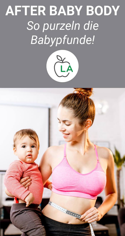 Tipps zum Abnehmen nach der Geburt