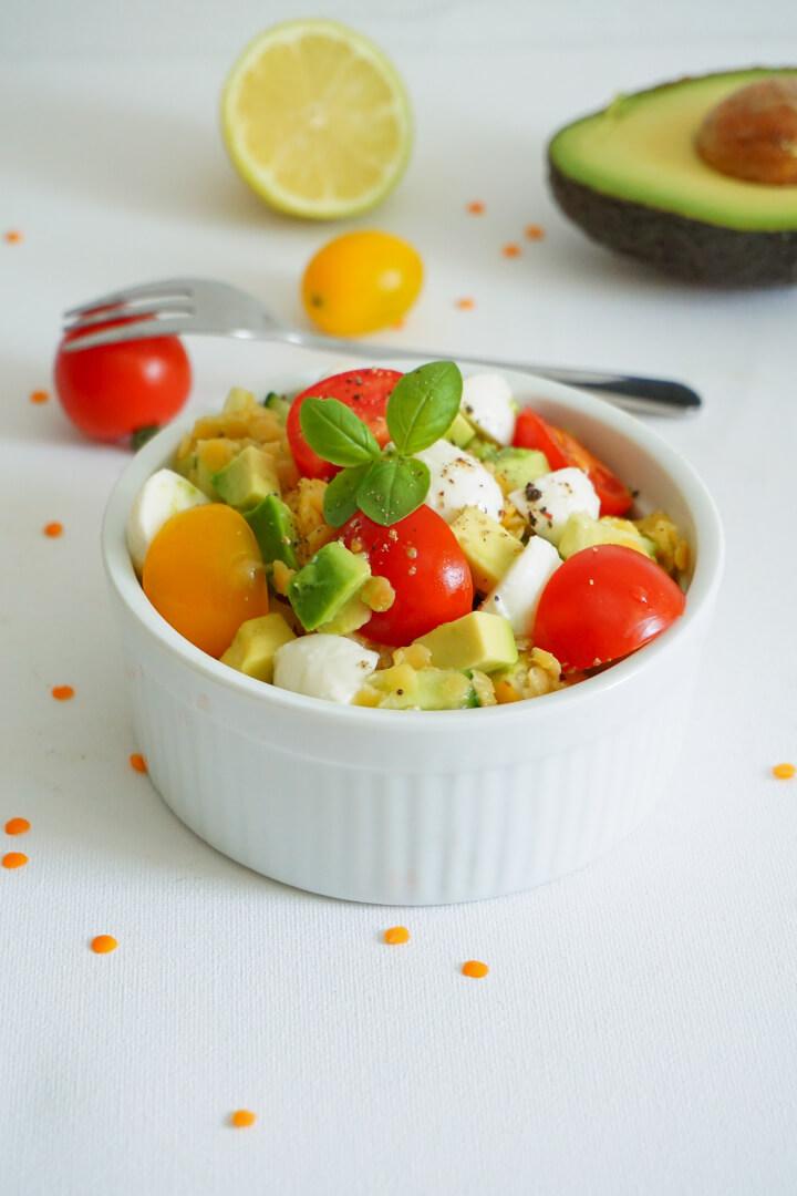 Vegetarisches Linsensalat Rezept