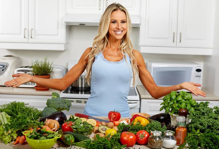 Nährstoffreiche Lebensmittel in der Küche