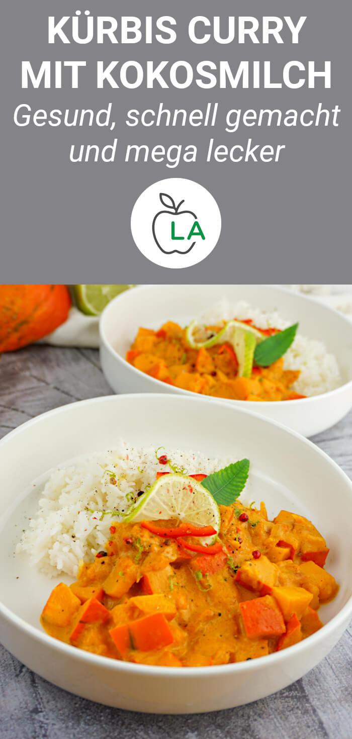 Veganes Kürbis Curry Rezept
