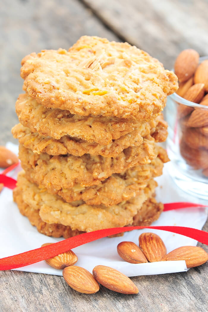 Low Carb Mandel Kekse ohne Zucker