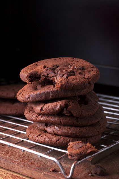 Low Carb Schoko Kekse ohne Zucker