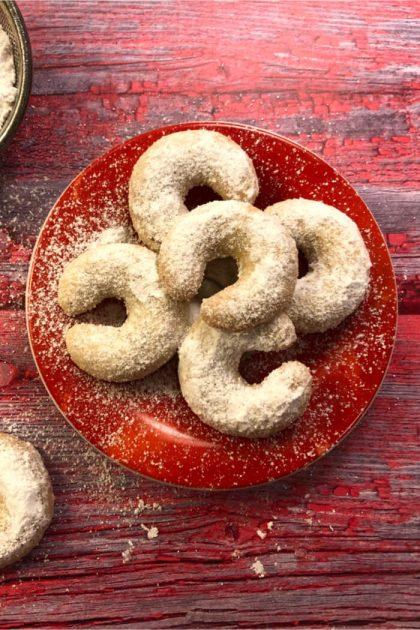 Low Carb Vanillekipferl - Rezept ohne Zucker