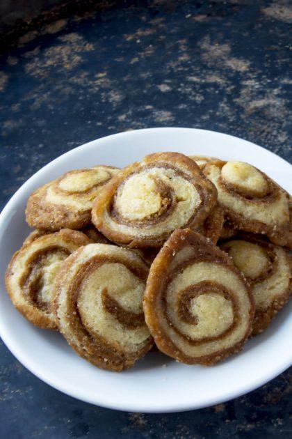 Low Carb Zimtschnecken Kekse
