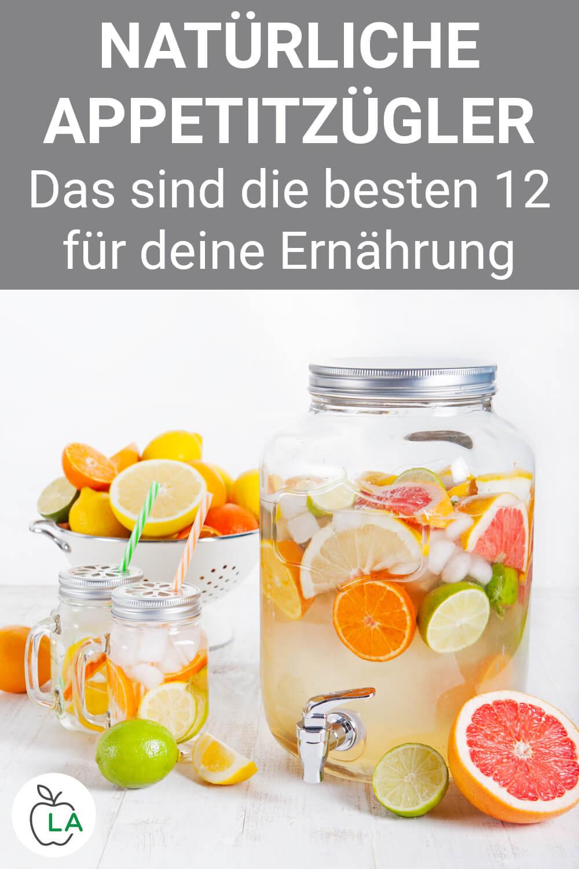 Detox Wasser als natürlicher Appetitzügler