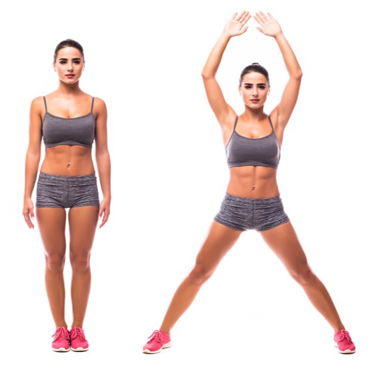 Ganzkörper-Übung fürs Cardio Training zuhause