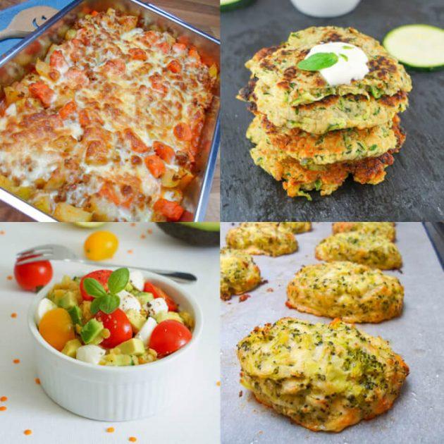 Kalorienarme Diät Rezepte für abends