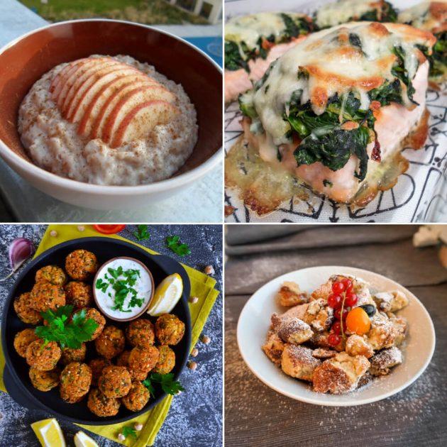 Kalorienarme Diät Rezepte unter 500 kcal