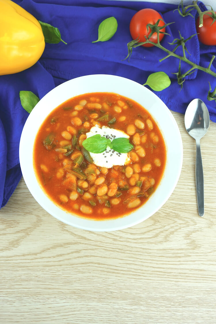 Kalorienarme Suppe für abends