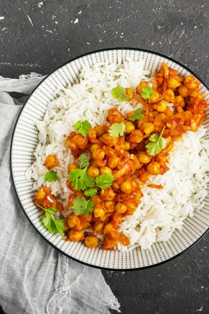 Kichererbsen Curry Rezept