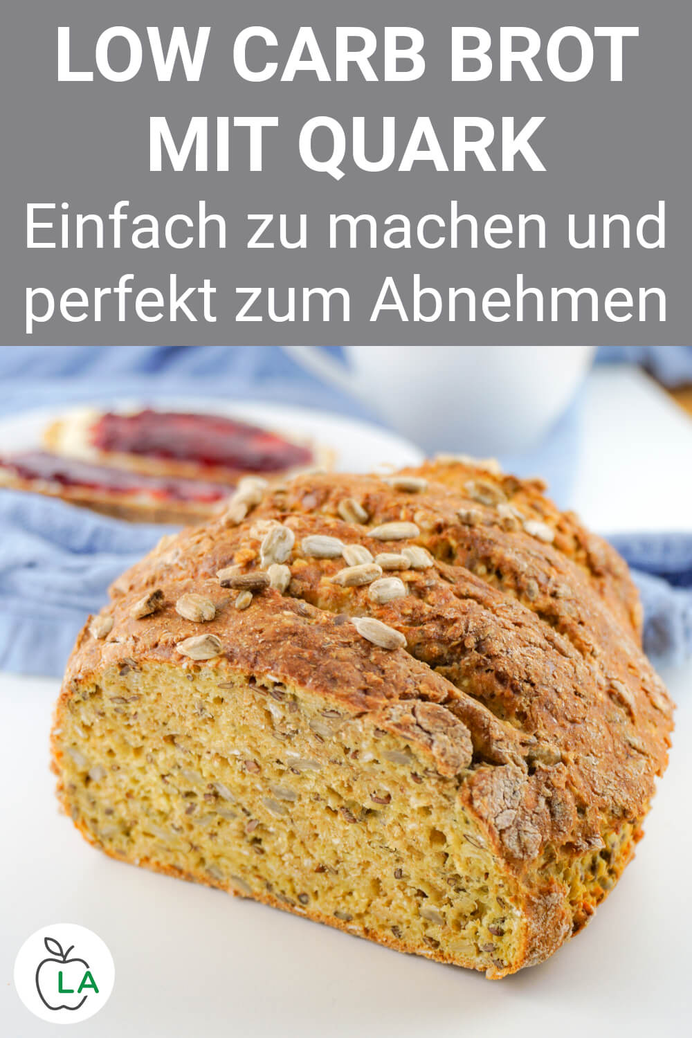 Low Carb Brot mit Quark