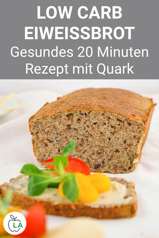 Low Carb Eiweißbrot mit Quark