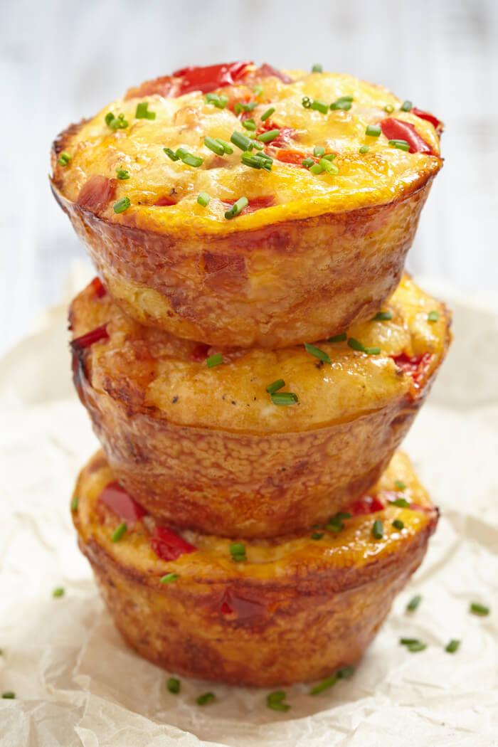 Low Carb Frühstücksmuffins Rezept
