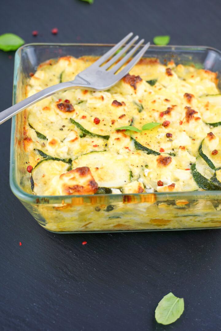 Low Carb Zucchini Auflauf Rezept