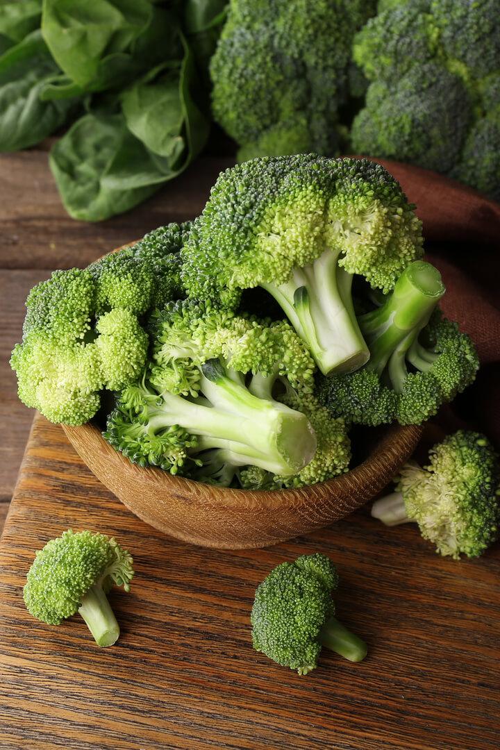 Brokkoli als ballaststoffreiches Lebensmittel