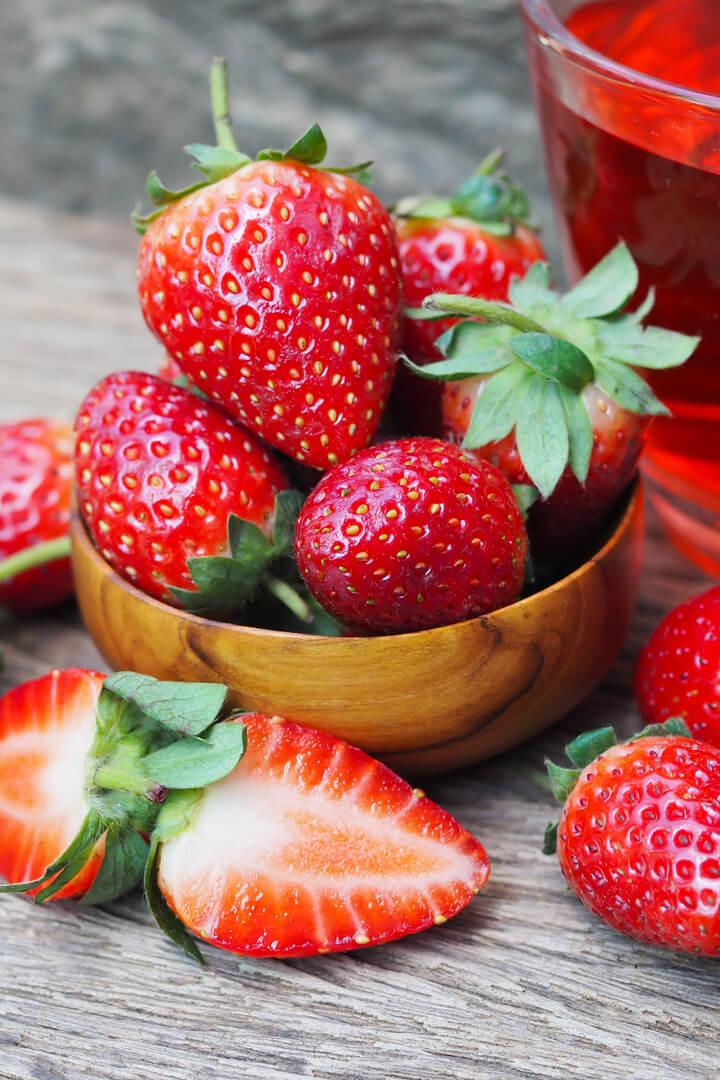 Erdbeeren als ballaststoffreiches Lebensmittel