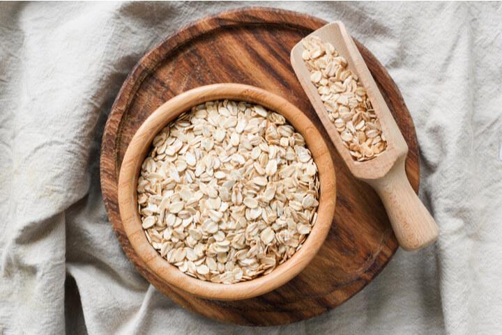 Haferflocken als ballaststoffreiches Lebensmittel