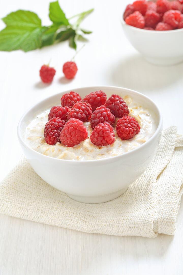 Haferkleie Porridge