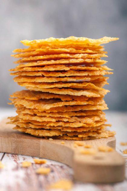 Low Carb Chips aus Käse