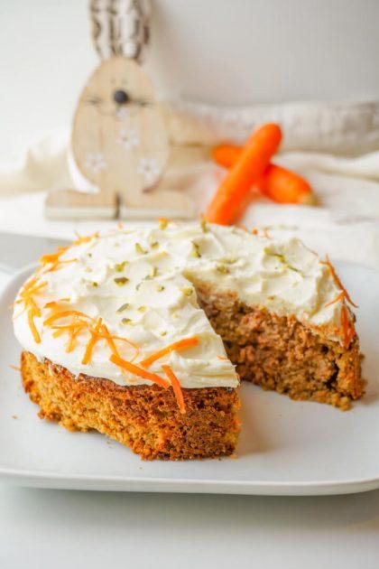 Low Carb Karottenkuchen Rezept