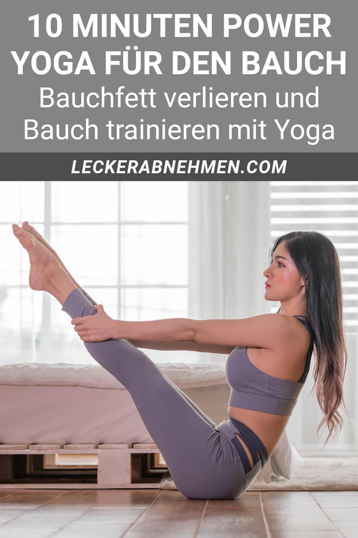 Power Yoga für den Bauch