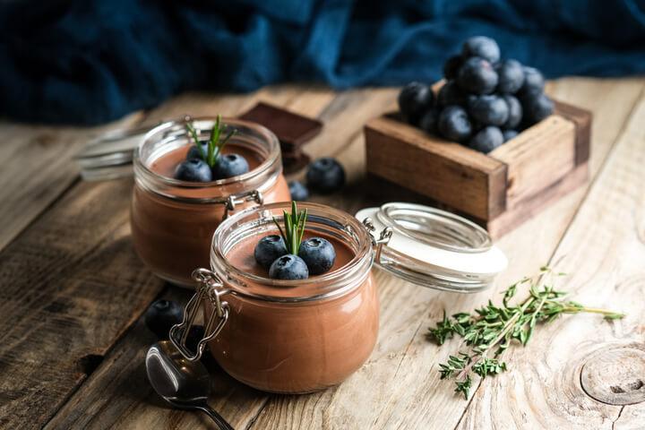 Quark-Creme fürs Low Carb Frühstück