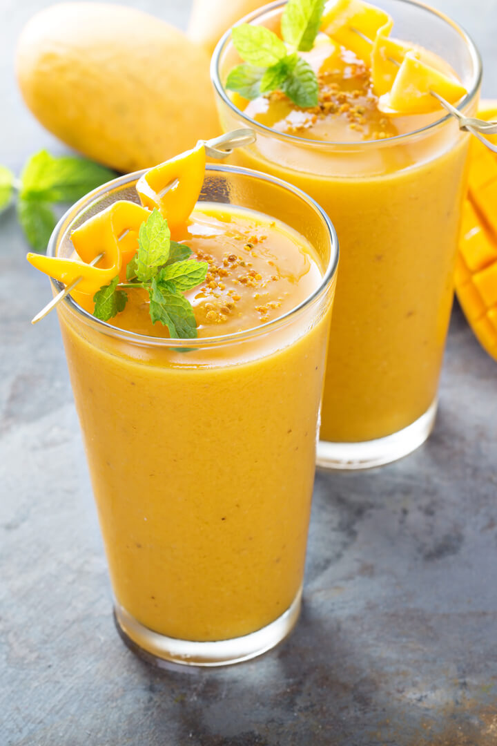 Tropical Smoothie mit Mango