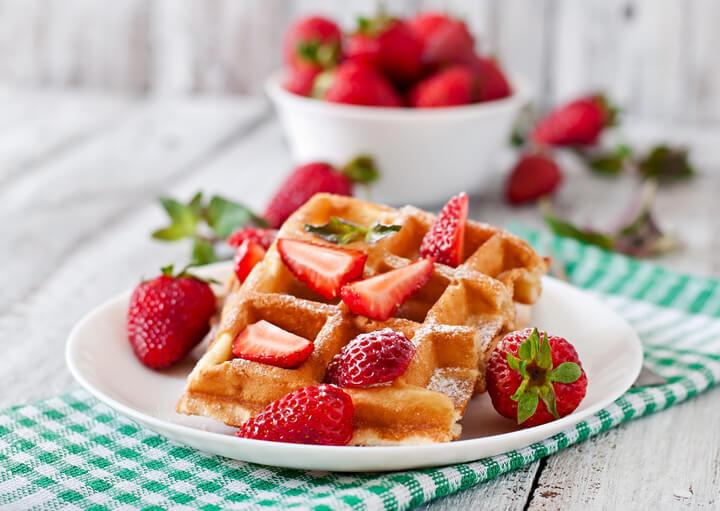 Waffeln fürs Low Carb Frühstück