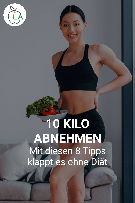 10 Kilo abnehmen ohne Diät