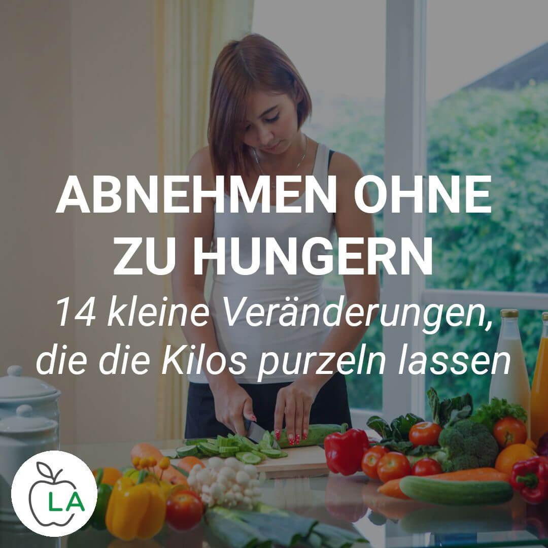Abnehmen ohne Hunger Tipps
