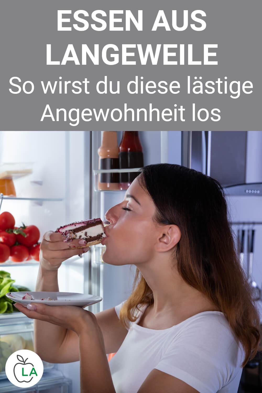 Essen aus Langeweile vermeiden