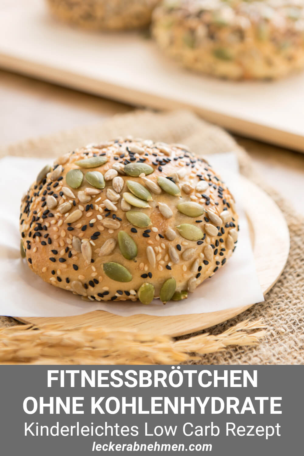 Low Carb Brötchen ohne Kohlenhydrate