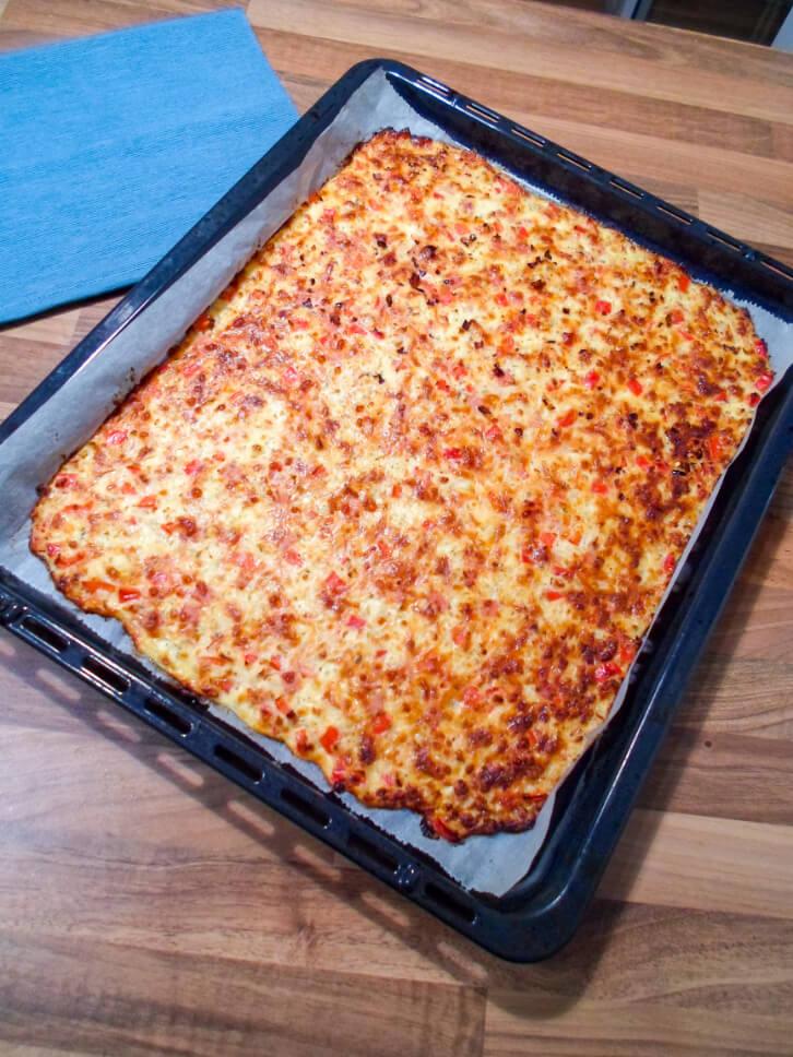 Low Carb Schüttelpizza