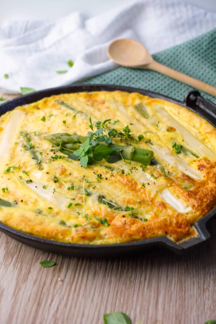 Spargel Omelett Rezept