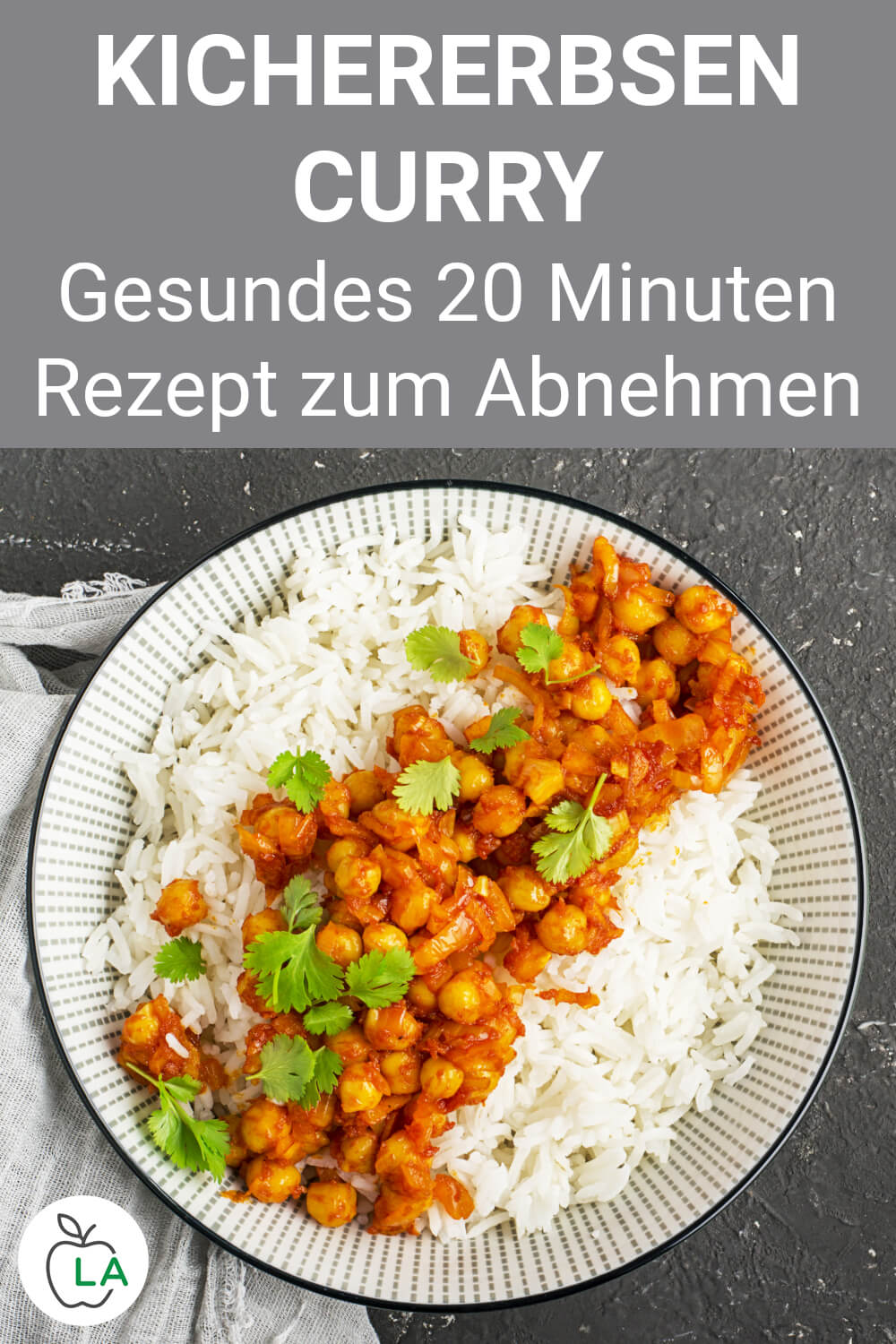 Veganes Kichererbsen Curry Rezept