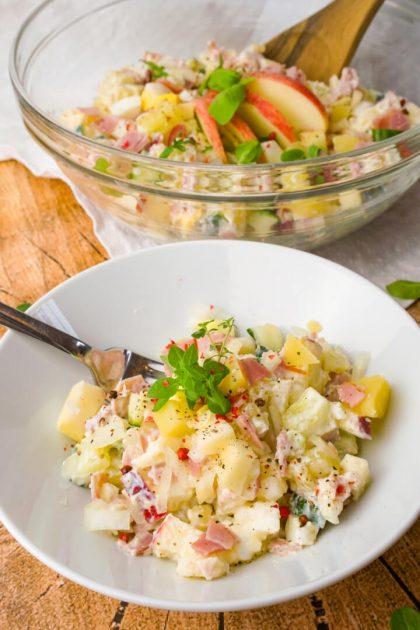 Gesunder Fitness Salat