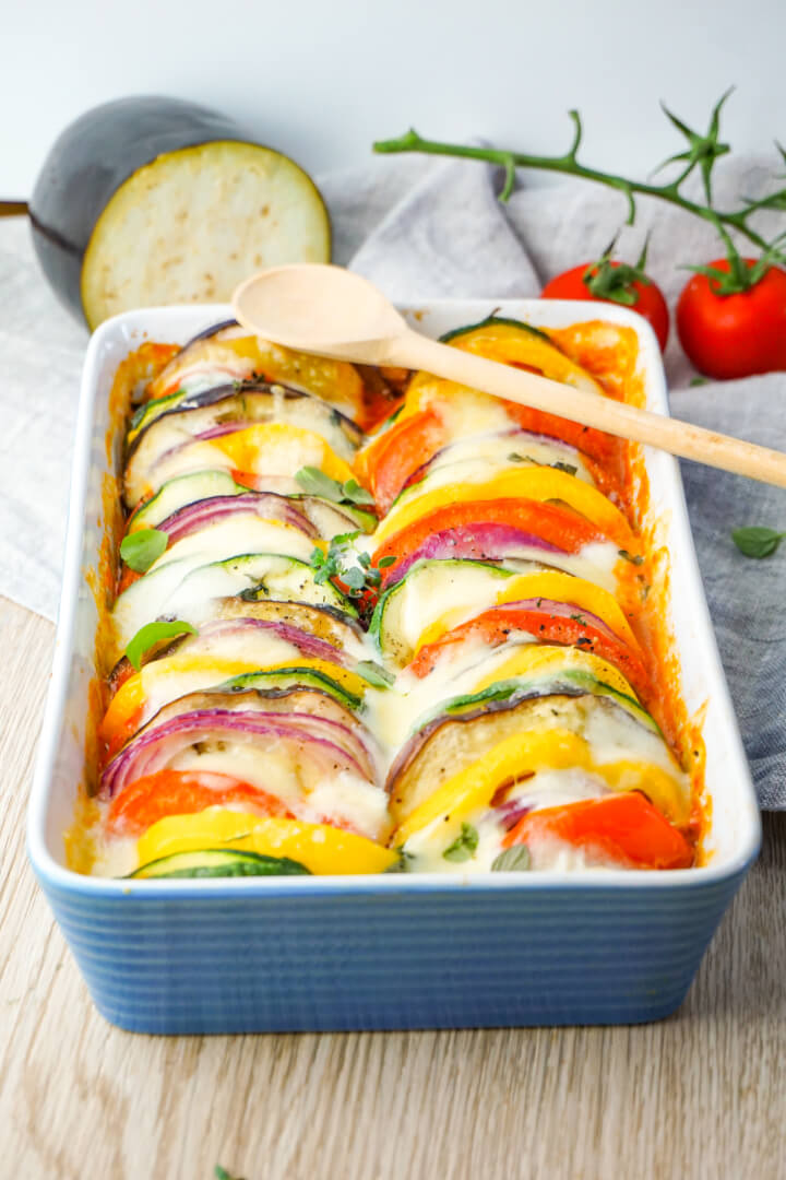 Ofen Ratatouille Low Carb Rezept