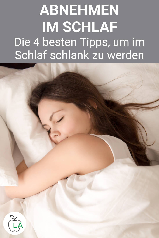 Abnehmen im Schlaf Tipps