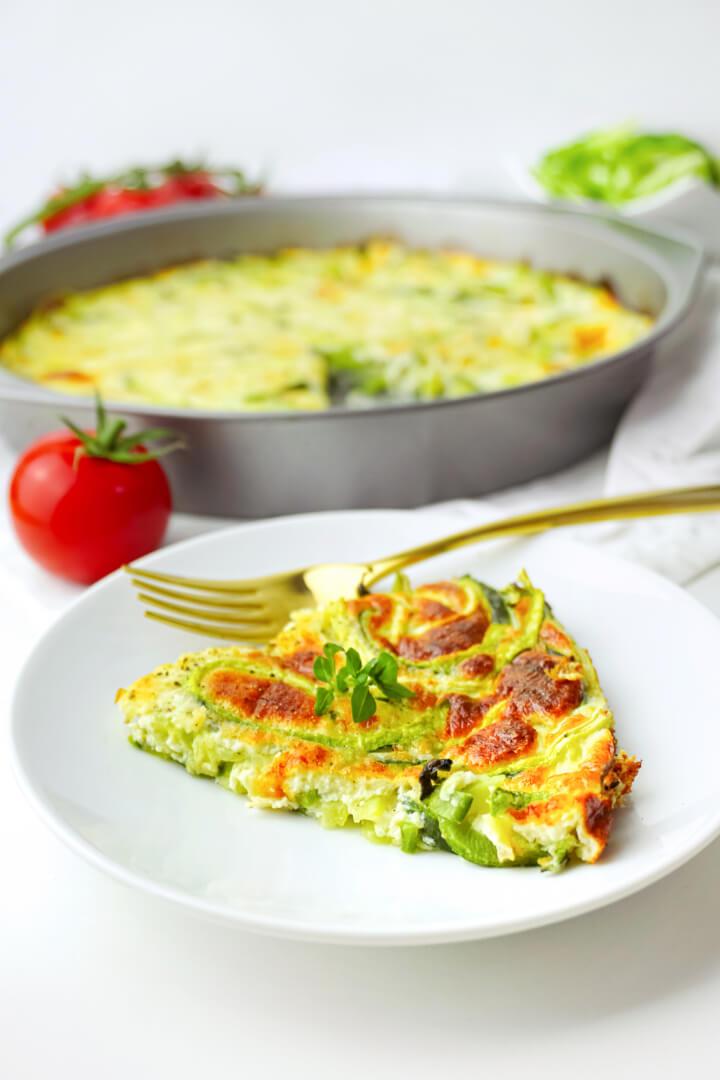 Low Carb Zucchini Frittata