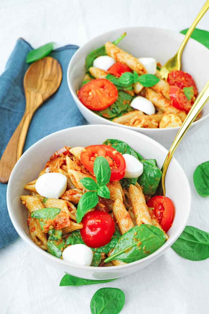 Rezept für italienischen Nudelsalat