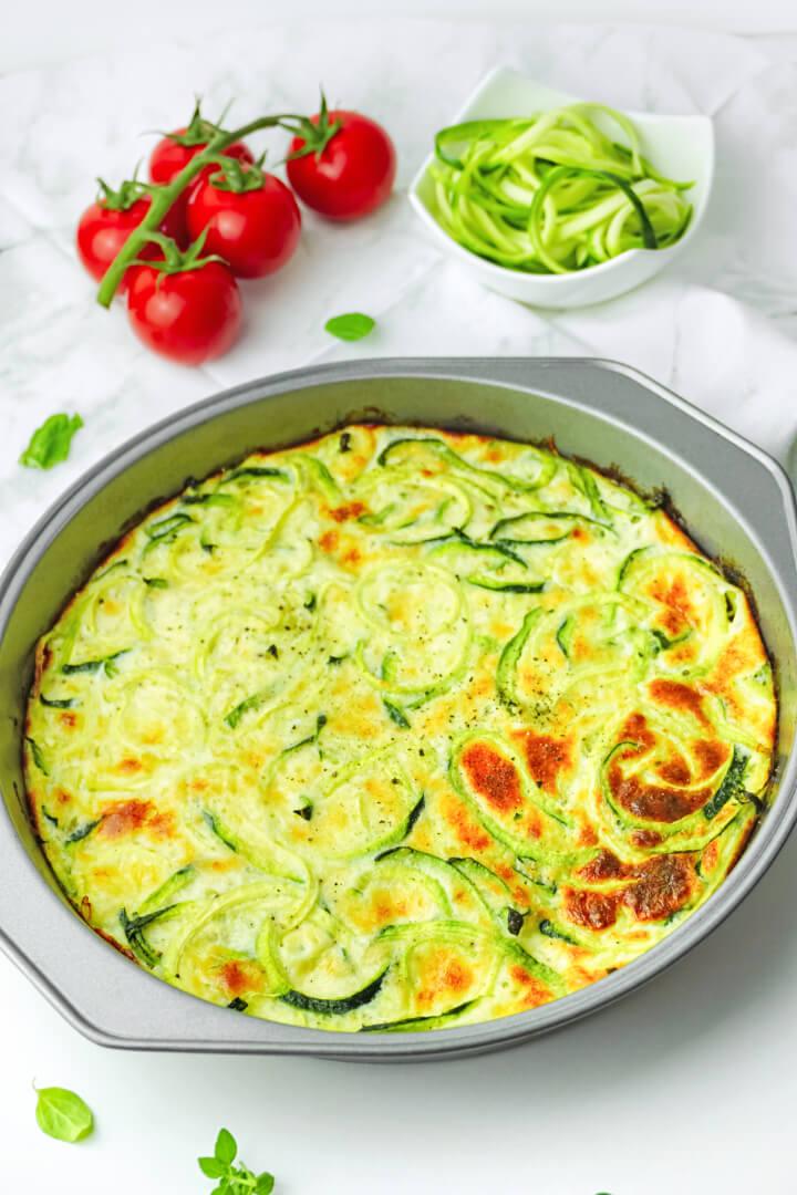 Zucchini Frittata Rezept