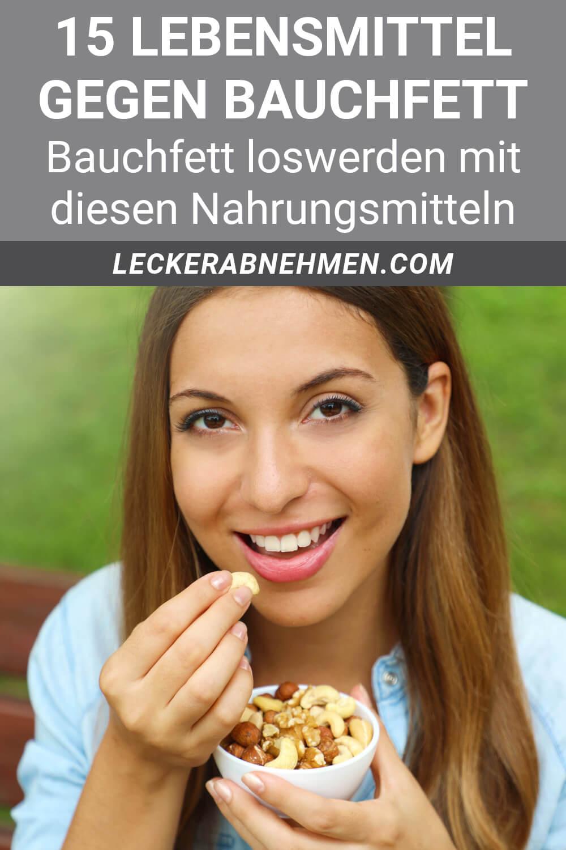 Lebensmittel gegen Bauchfett