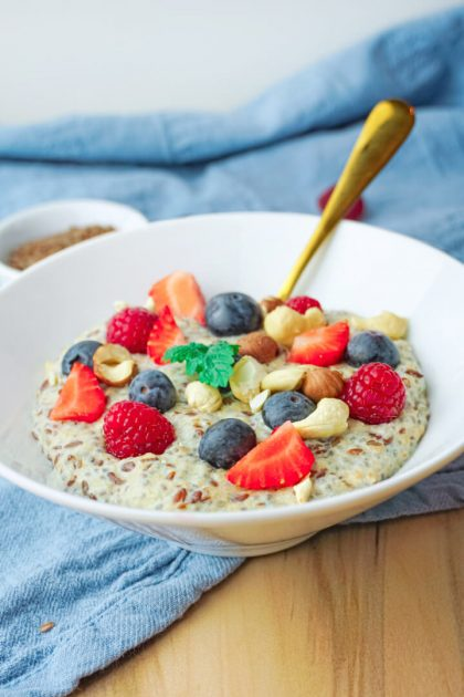 Low Carb Porridge Rezept