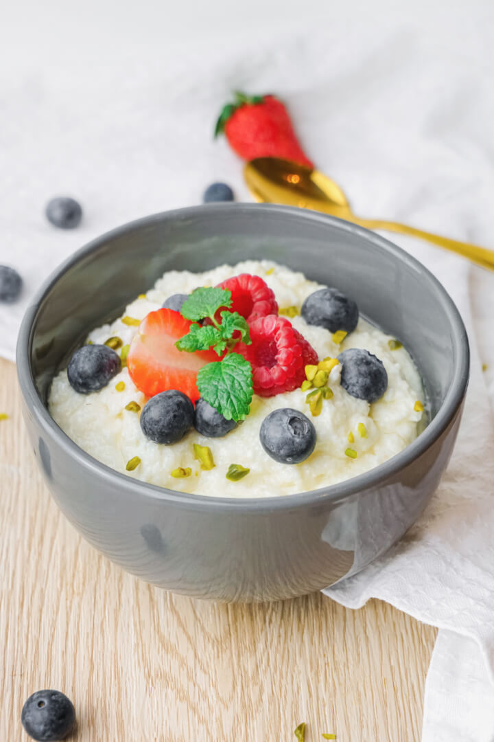 Grießbrei kalorienarm und gesund zubereiten