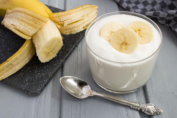 Bananen Quark gegen Bauchfett
