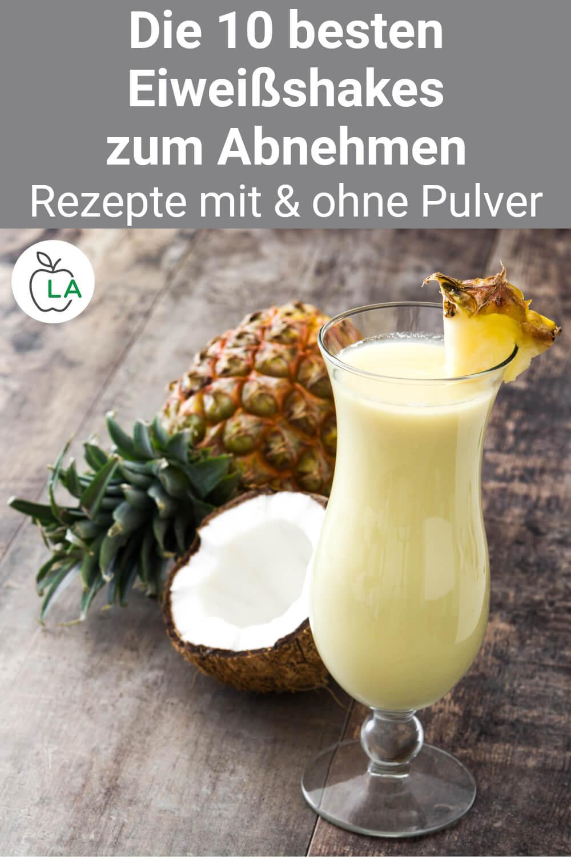 Proteinshake Rezepte zum Abnehmen