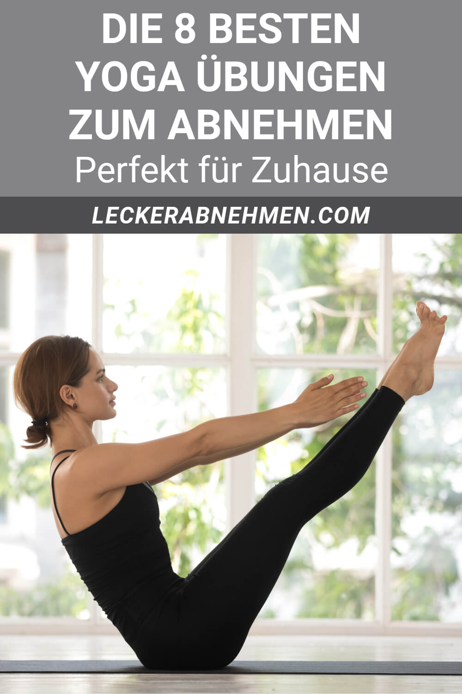 Yoga Übungen zum Abnehmen