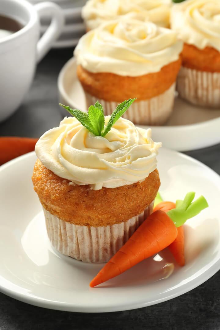 Low Carb Karotten Muffins