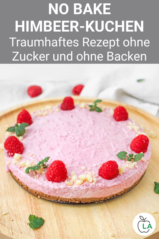 No Bake Himbeer-Quark-Kuchen